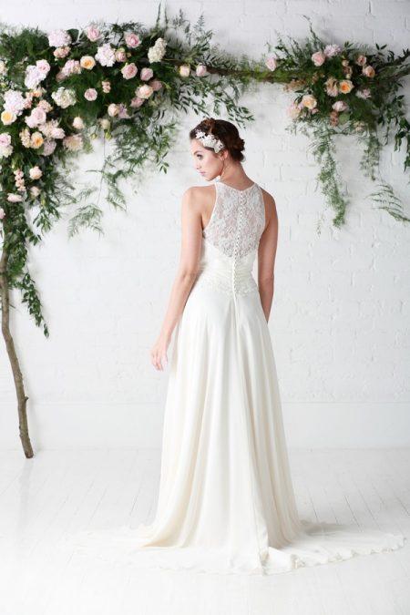 Back of Aphrodite Wedding Dress - Charlotte Balbier Untamed Love 2017 Bridal Collection