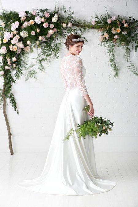 Back of April Rose Wedding Dress - Charlotte Balbier Untamed Love 2017 Bridal Collection