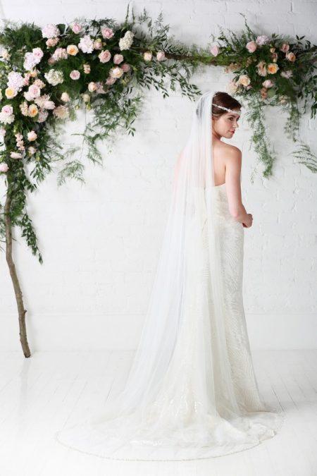 Back of Bayley Wedding Dress - Charlotte Balbier Untamed Love 2017 Bridal Collection