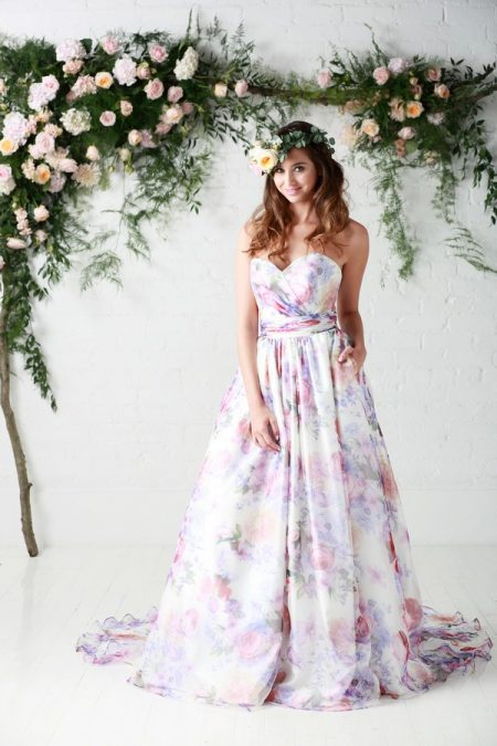 Bloom Wedding Dress - Charlotte Balbier Untamed Love 2017 Bridal Collection