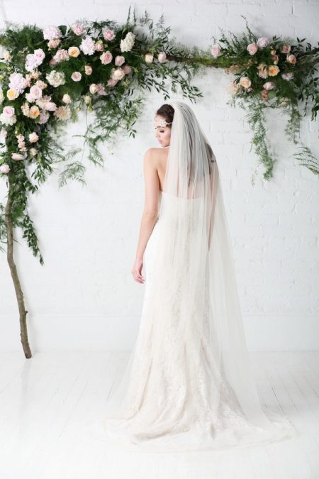 Back of Carmel Wedding Dress - Charlotte Balbier Untamed Love 2017 Bridal Collection