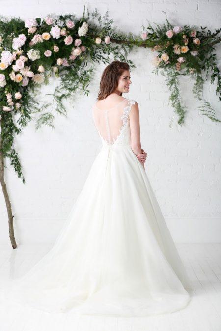 Back of Joy Wedding Dress - Charlotte Balbier Untamed Love 2017 Bridal Collection
