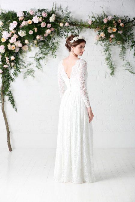 Back of Luna Wedding Dress - Charlotte Balbier Untamed Love 2017 Bridal Collection