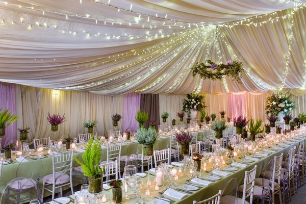 Mix and match wedding chairs