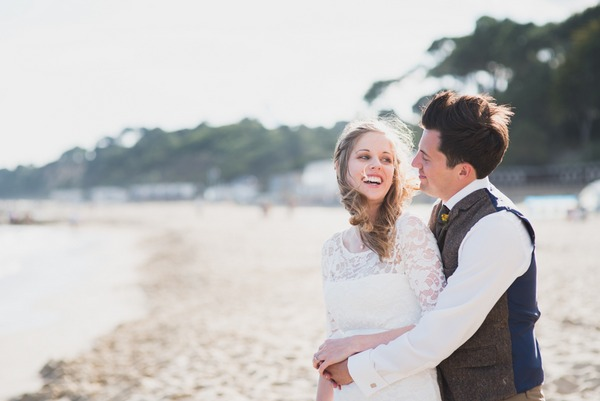 A Great British Seaside Wedding in Bournemouth