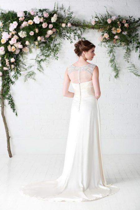 Back of Rosalie Wedding Dress - Charlotte Balbier Untamed Love 2017 Bridal Collection