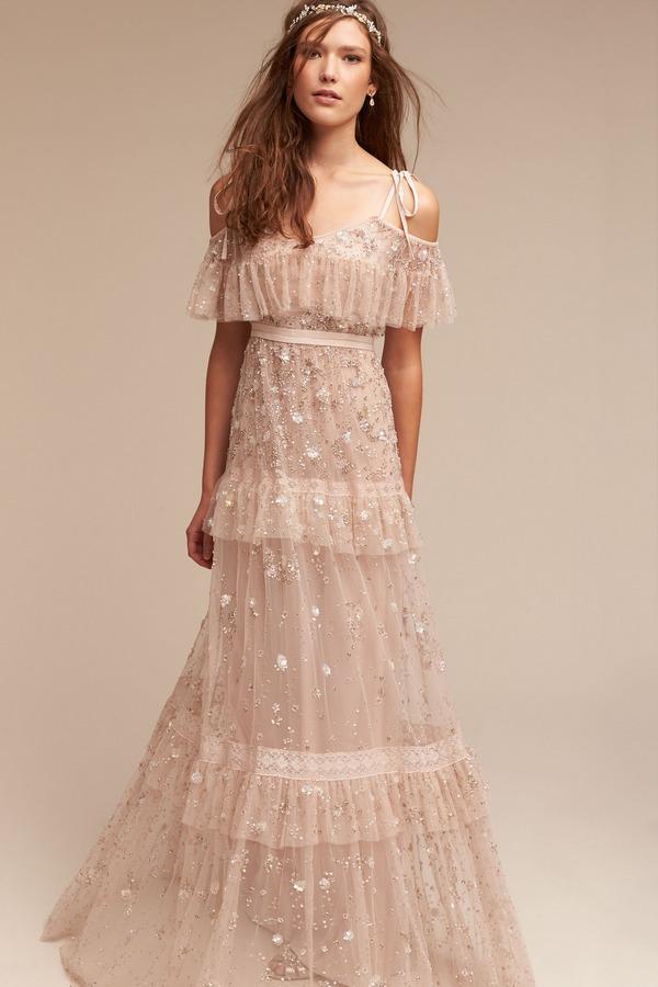 Wyndham bhldn spring 2017 the wedding community blog for Dress for a wedding party