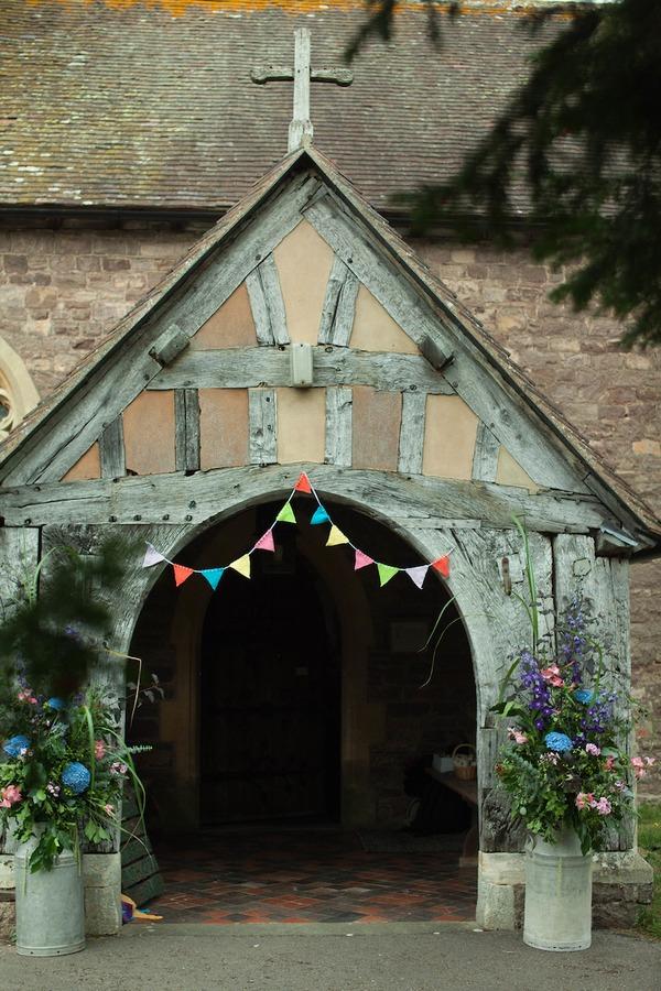 Entrance to Bromesberrow Church