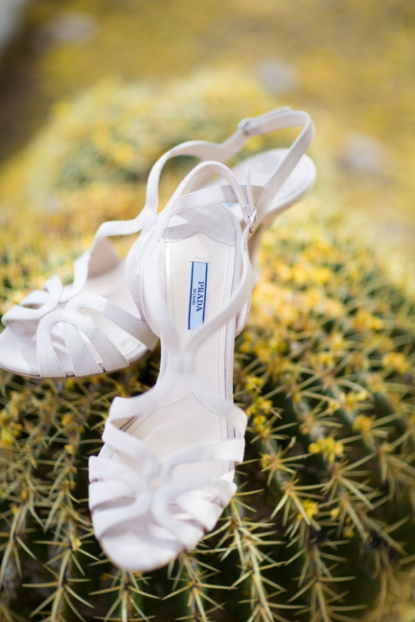 Prada wedding shoes