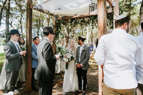 Start of wedding ceremony