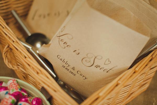 Personalised sweet bags
