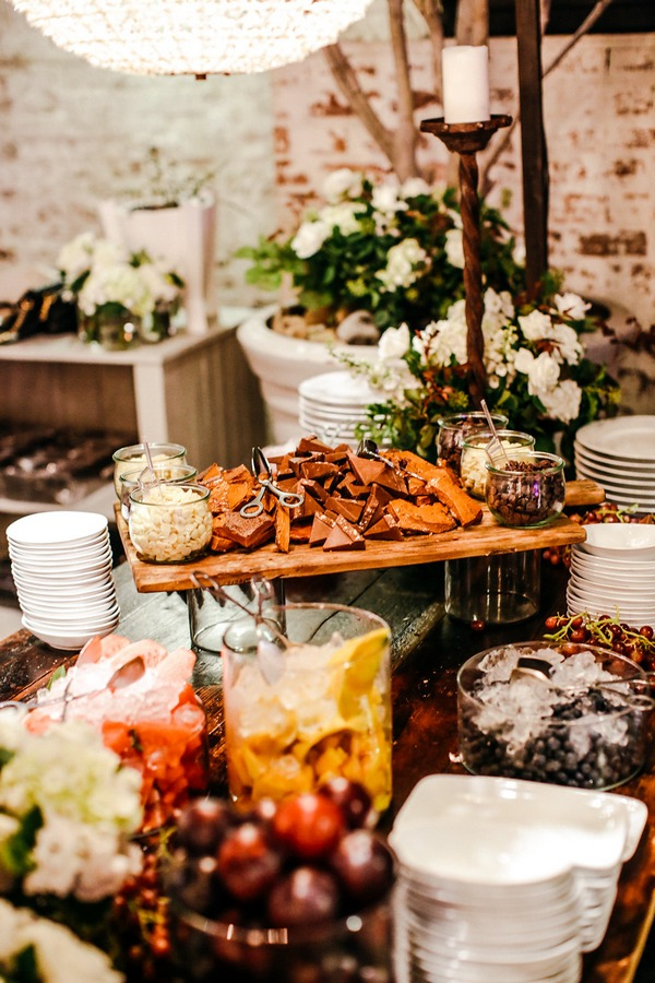 Sweets at wedding