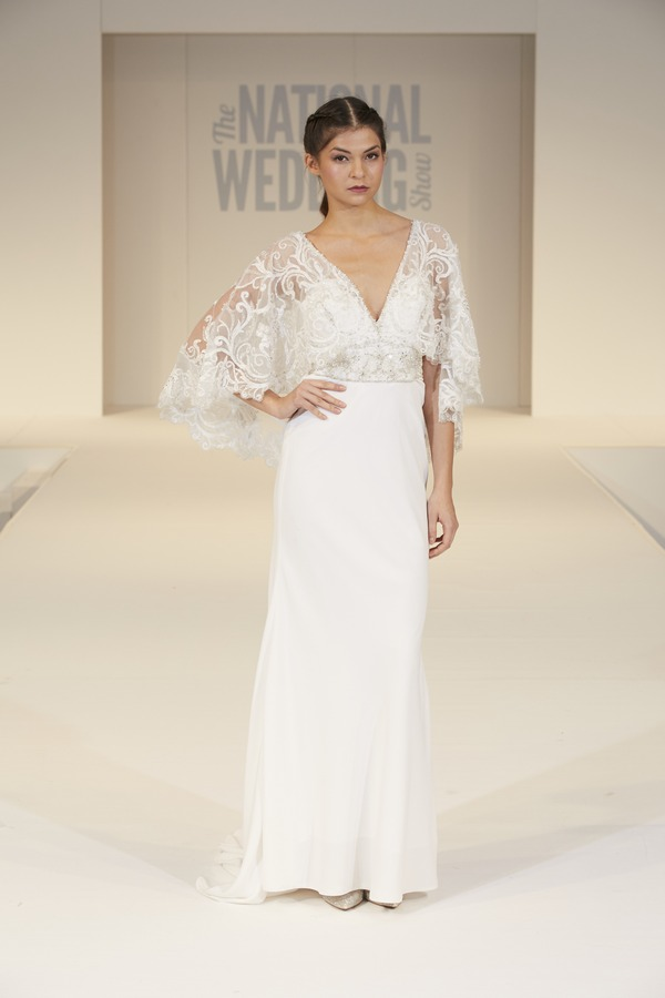 Allure Bridals Wedding Dress on The National Wedding Show Catwalk Spring 2017