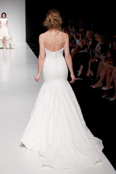 Back of Amaris wedding dress from the Sassi Holford Twenty17 Bridal Collection