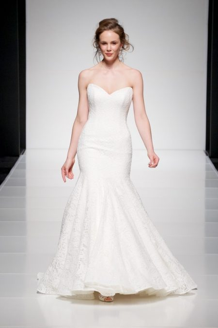 Amaris wedding dress from the Sassi Holford Twenty17 Bridal Collection