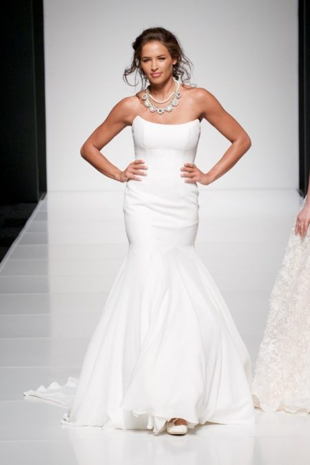 Astrid wedding dress from the Sassi Holford Twenty17 Bridal Collection
