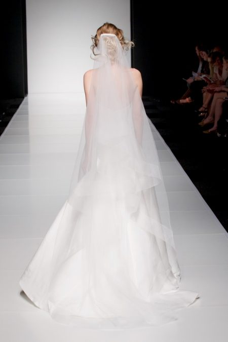 Back of Autumn wedding dress from the Sassi Holford Twenty17 Bridal Collection