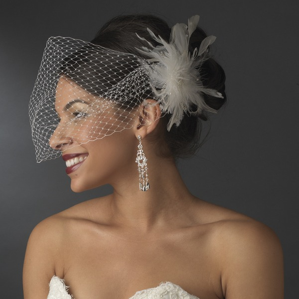 Bandeau style veil