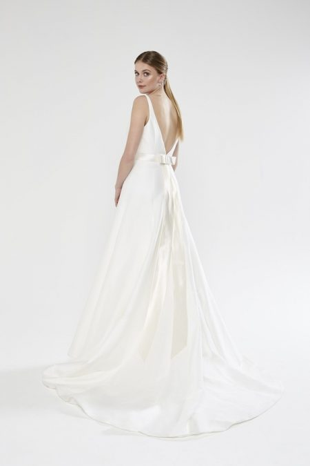 Back of Bethany wedding dress from the Sassi Holford Twenty17 Bridal Collection