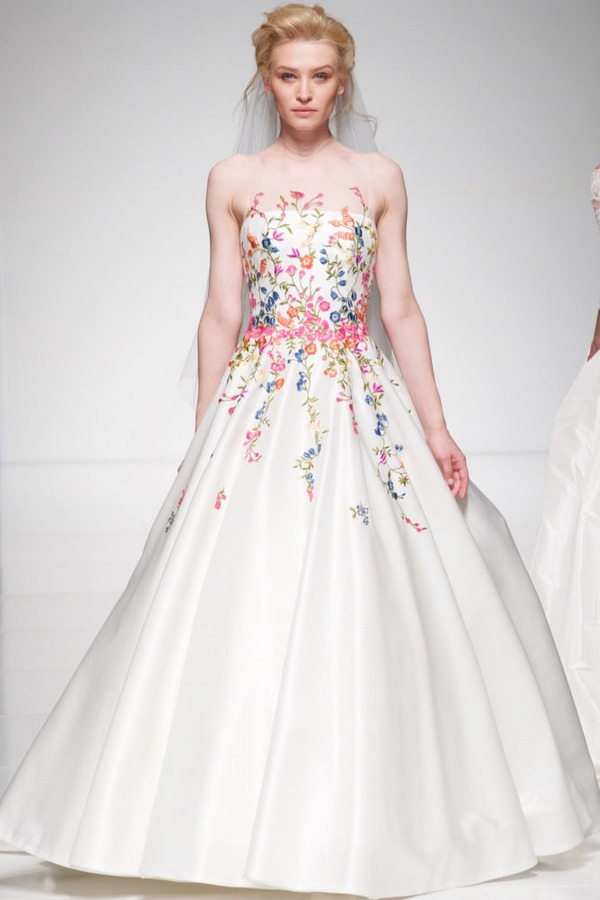 Blossom wedding dress from the Sassi Holford Twenty17 Bridal Collection
