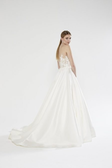 Back of Bronte wedding dress from the Sassi Holford Twenty17 Bridal Collection