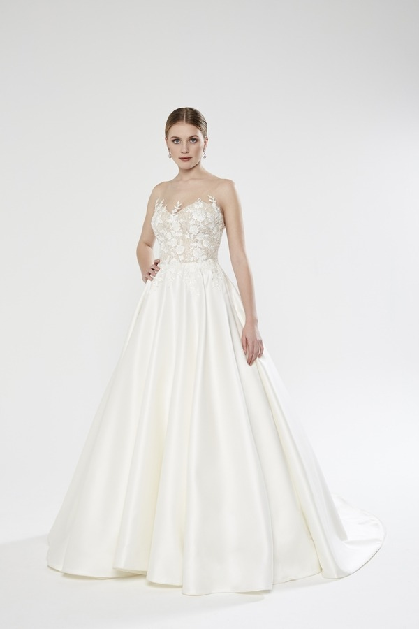 Bronte wedding dress from the Sassi Holford Twenty17 Bridal Collection