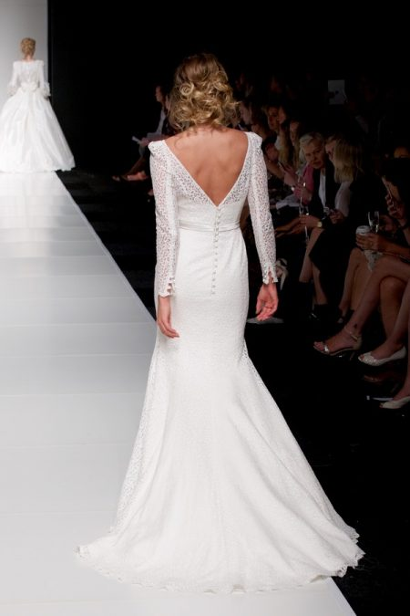 Back of Brooke wedding dress from the Sassi Holford Twenty17 Bridal Collection