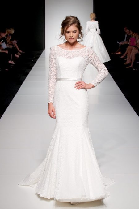 Brooke wedding dress from the Sassi Holford Twenty17 Bridal Collection