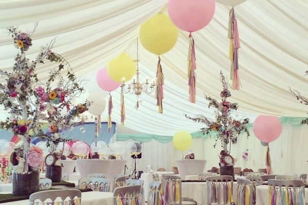 Big, Bold and Beautiful Wedding Balloons