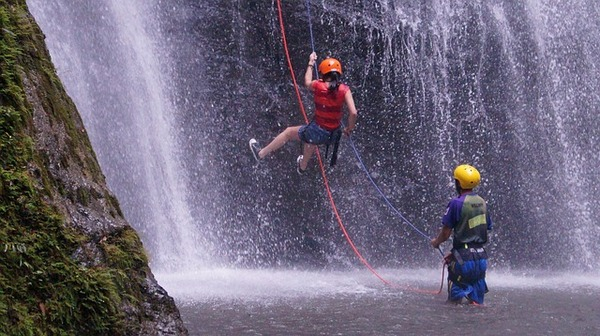 Canyoning - water themed stag and hen activity