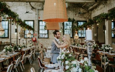 A Chic Warehouse Wedding in Sydney