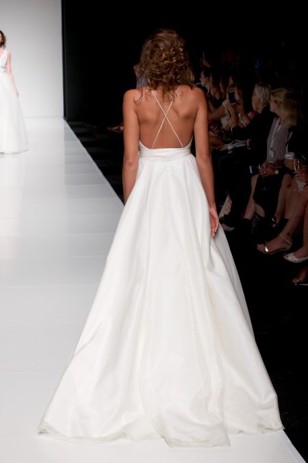 Back of Darcy wedding dress from the Sassi Holford Twenty17 Bridal Collection