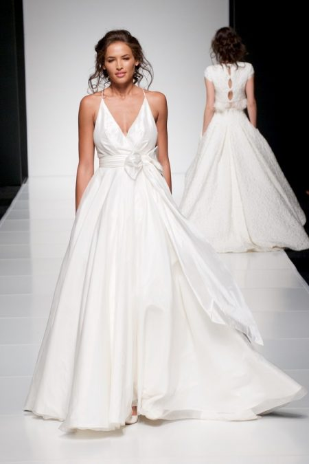 Darcy wedding dress from the Sassi Holford Twenty17 Bridal Collection