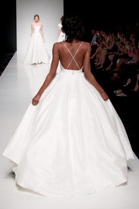 Back of Davina wedding dress from the Sassi Holford Twenty17 Bridal Collection