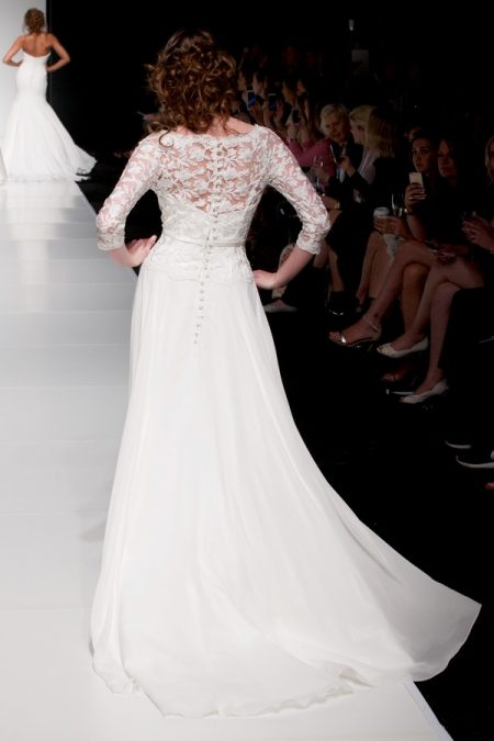 Back of Eleanor wedding dress from the Sassi Holford Twenty17 Bridal Collection