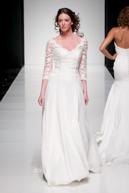 Eleanor wedding dress from the Sassi Holford Twenty17 Bridal Collection