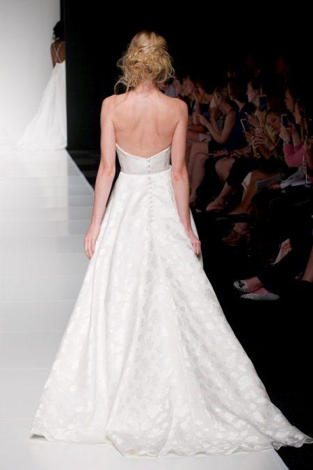 Back of Elizabeth wedding dress from the Sassi Holford Twenty17 Bridal Collection