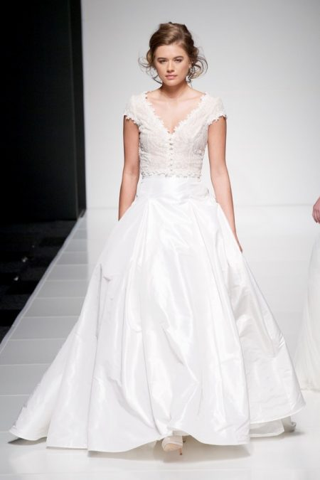 Erica Top with Erin Skirt from the Sassi Holford Twenty17 Bridal Collection