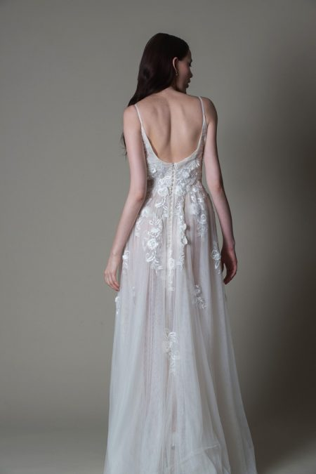 Back of Fionn wedding dress from the MiaMia True Romance 2017 Bridal Collection