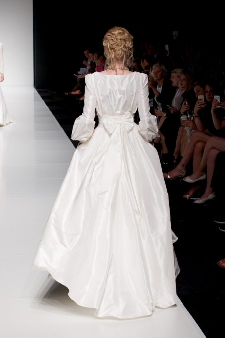 Back of Florence wedding dress from the Sassi Holford Twenty17 Bridal Collection