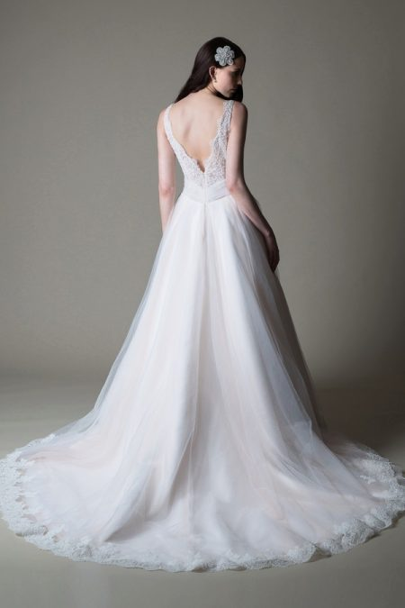 Back of Gigi wedding dress from the MiaMia True Romance 2017 Bridal Collection