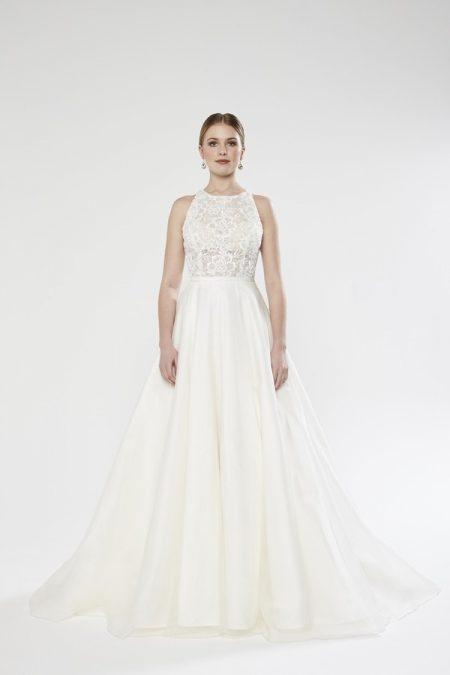 Harper wedding dress from the Sassi Holford Twenty17 Bridal Collection