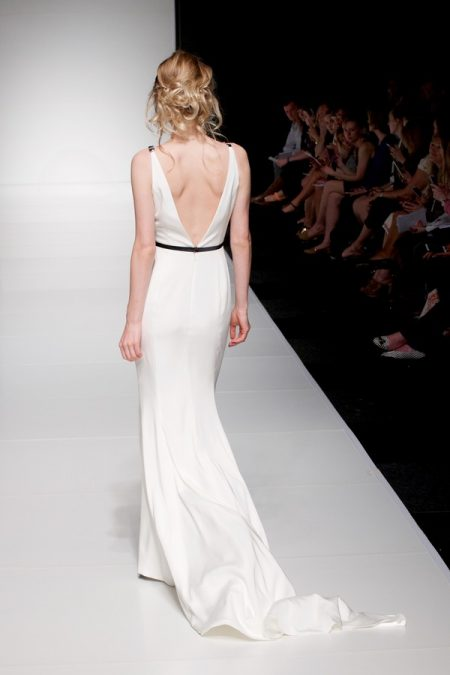 Back of Hettie wedding dress from the Sassi Holford Twenty17 Bridal Collection
