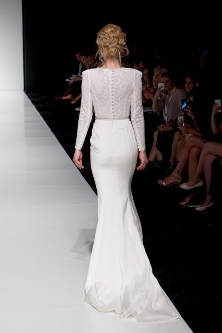 Back of Honor wedding dress from the Sassi Holford Twenty17 Bridal Collection