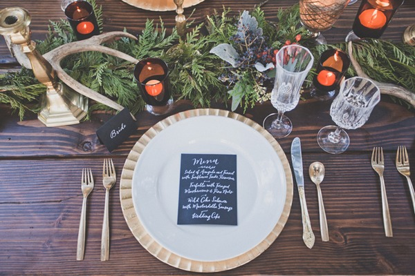 Hygge Wedding Table Styling