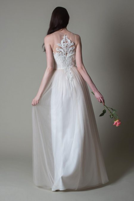 Back of Isolde wedding dress from the MiaMia True Romance 2017 Bridal Collection