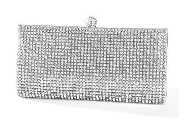 Jessica Sparkly Bridal Bag