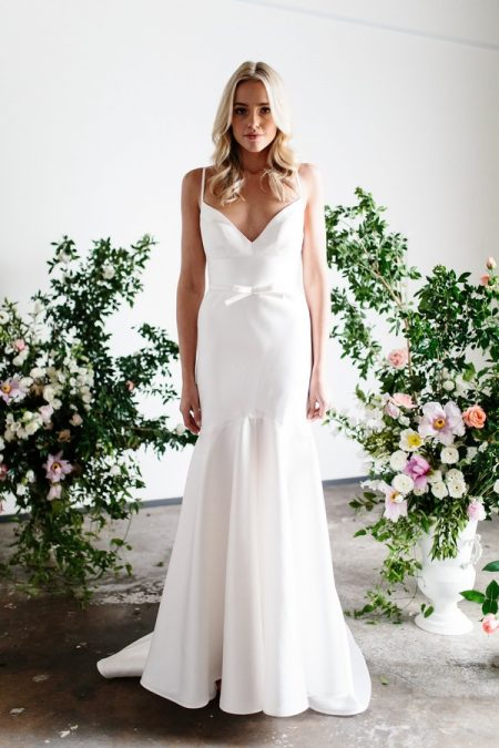 Jessie and Catrino Wedding Dress from the Karen Willis Holmes Spring Meadow 2017 Bridal Collection