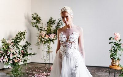 Karen Willis Holmes Spring Meadow 2017 Bridal Collection