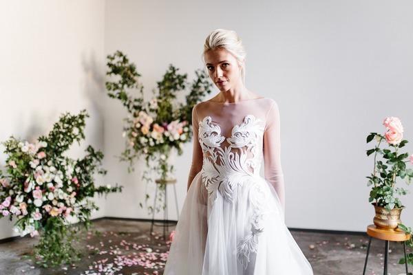 Karen Willis Holmes Spring Meadow 2017 Alesha Wedding Dress